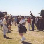 Fort Snelling track vehical park