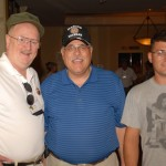 Bob Peavey, Mike Belmo Belmessieri, and Mike's son, Dominick