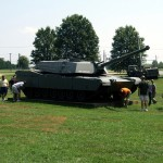 Day-2-Inspecting-an-M-1-Abrams-tank-at-the-Aberdeen-Proving-Grounds
