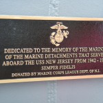 Day-3-A-plaque-on-the-USS-New-Jersey-dedicated-to-Sea-Going-Marines