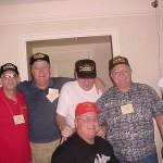 Front row Carl Fleischmann Back Row L to R  Lloyd Pappy Reynolds Bill JJ Carroll Frank Vinning Larry Parshall