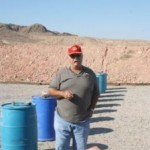 Bob Embesi Range officer, Gun Range on Nellis AFB