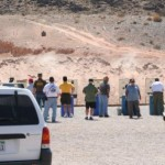 Gun Range on Nellis AFB