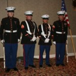 Color Guard at the Las Vegas banquet