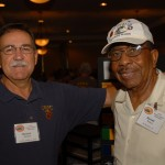 Marshall Jamison and Barnett Persons renew an old friendship