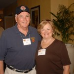 Pete and Sonya Frano getting ready to visit Parris Island