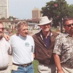 "Harry ""Super Jew"" Christensen, ??, Jack Butcher, ""Alphie"", Mark Anderson, Lloyd ""Pappy"" Reynolds. Bill Wright photo."