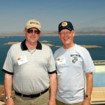 Rick Oswood and Ron Knight at Lake Powell