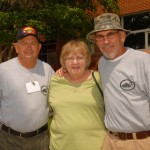 Wally Young's wife puts up with Dickey Russell and her husband!