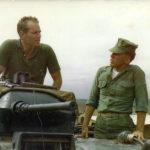 Robert Haller with Charleston Heston 1966