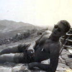 Lt Peksens, Three Fingers, 1st Ontos Bn observation outpost near Hill 10, 1968