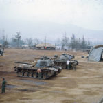 Battalion Tank Maintenance area, early 1967