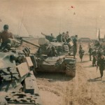Mount Out for an Ops north of Doang Ha3rd Tanks Charlie Co 3rd plt         Dec. 68 Quang Tri