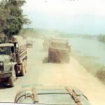 Quang Tri bridge down