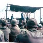 Christmas USO show at Camp Carroll 1966