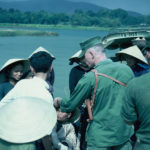 Lt Jim Ray with indigenous Vietnamese
